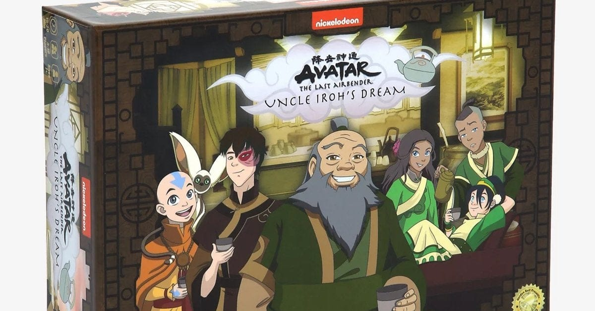 Avatar: The Last Airbender Now Has Board Game Called Uncle Iroh's Dream