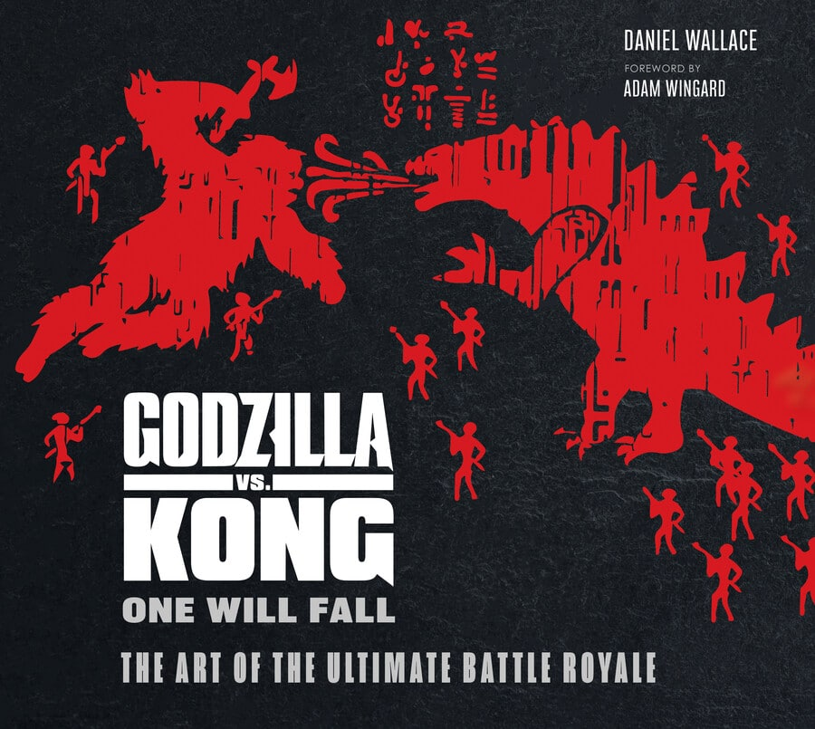 Godzilla vs. Kong: One Will Fall, The Art of the Ultimate Battle Royal book cover.
