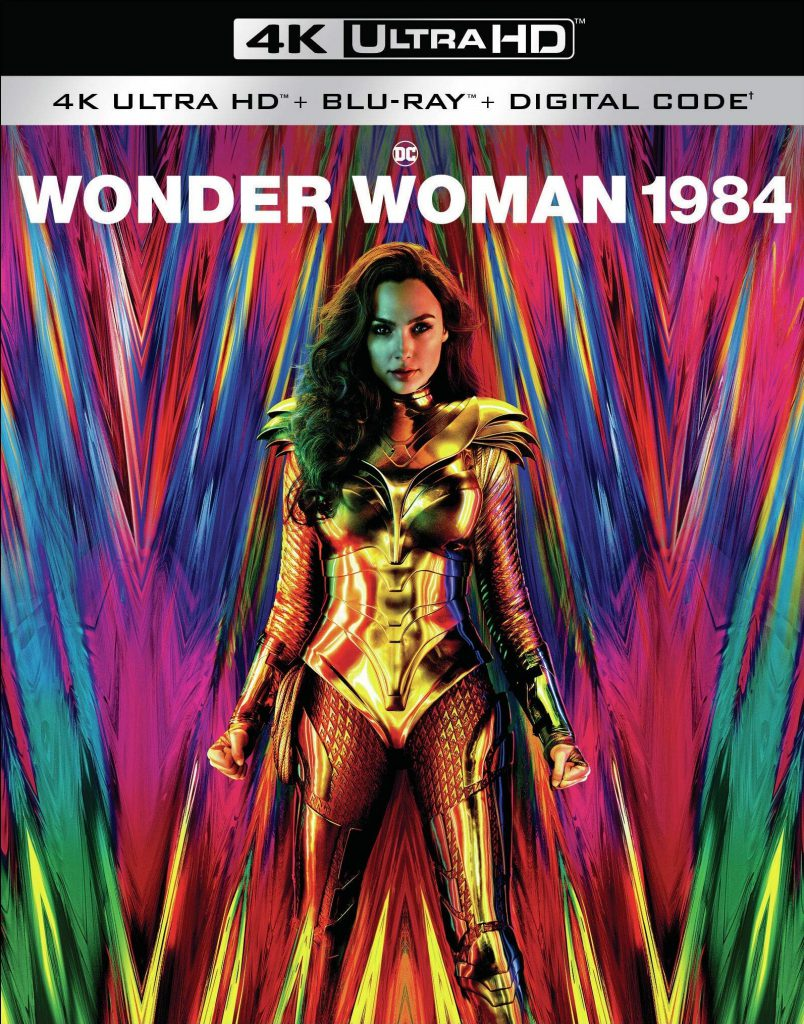 Wonder Woman 1984 4K Ultra cover