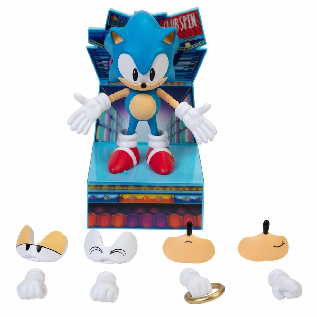 Sonic The Hedgehog 30th Anniversary  Figure Harkens Back to Good Ol' Days
