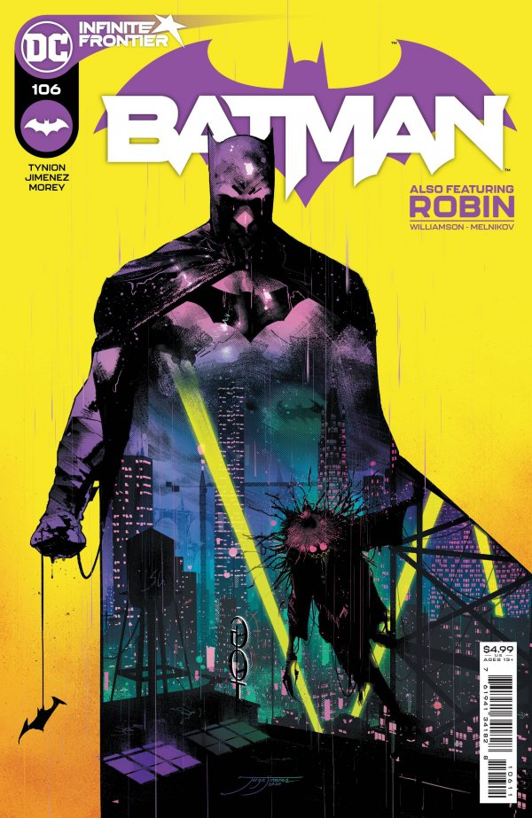 Batman 106: Uniting Present and Future