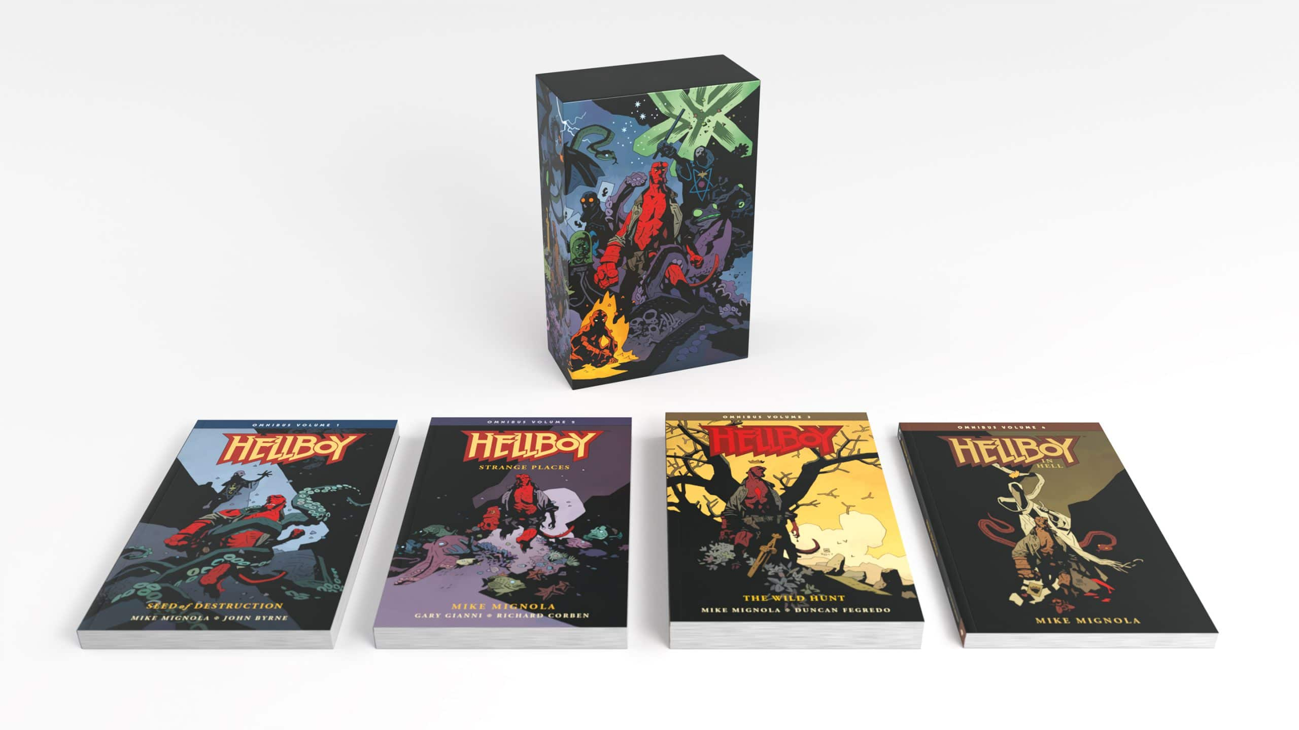 Hellboy Omnibus And Fine Art Reprints Coming From Dark Horse