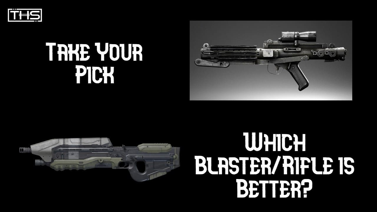 Crossover Armories: E-11 Blaster vs. MA5 Rifle