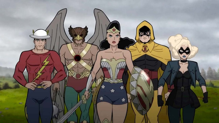 Justice Society: World War II Now Available On Digital