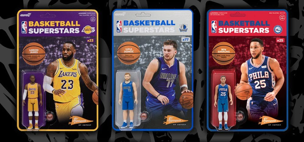 NBA Supersports Figures Are A Slam Dunk From Super7
