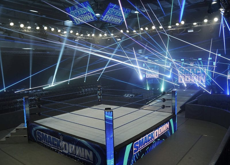 On This Day: WWE Smackdown Runs With No Fans, One Year Ago