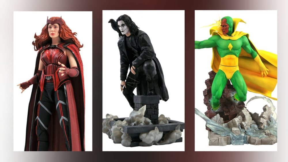 Diamond Select Toys: Vision, Scarlet Witch, And More Available To Pre-Order