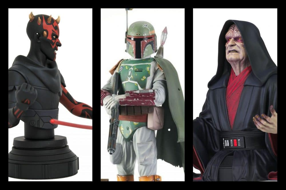 Star Wars: Boba Fett, Maul, and Palpatine Statues Are Available For Pre-Order