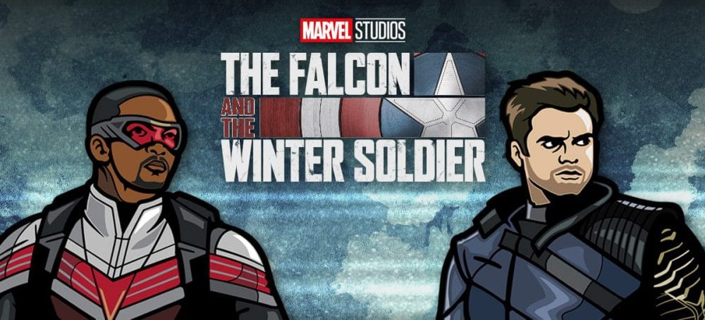 The Falcon and the Winter Soldier Pins Are Available Now At FiGPiN