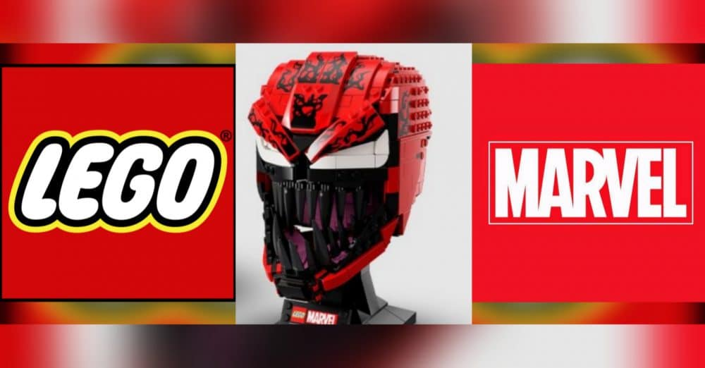 New LEGO Carnage Bust Available Tomorrow For Pre-Order
