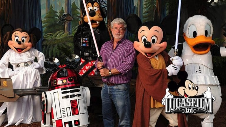 George Lucas Still Cashing In On Star Wars, Disney