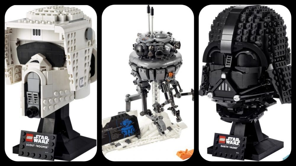 Star Wars: Three New LEGO Helmets Are Coming Soon.