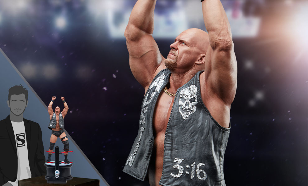 """Stone Cold"" Steve Austin Statue Now Available For Pre-Order"