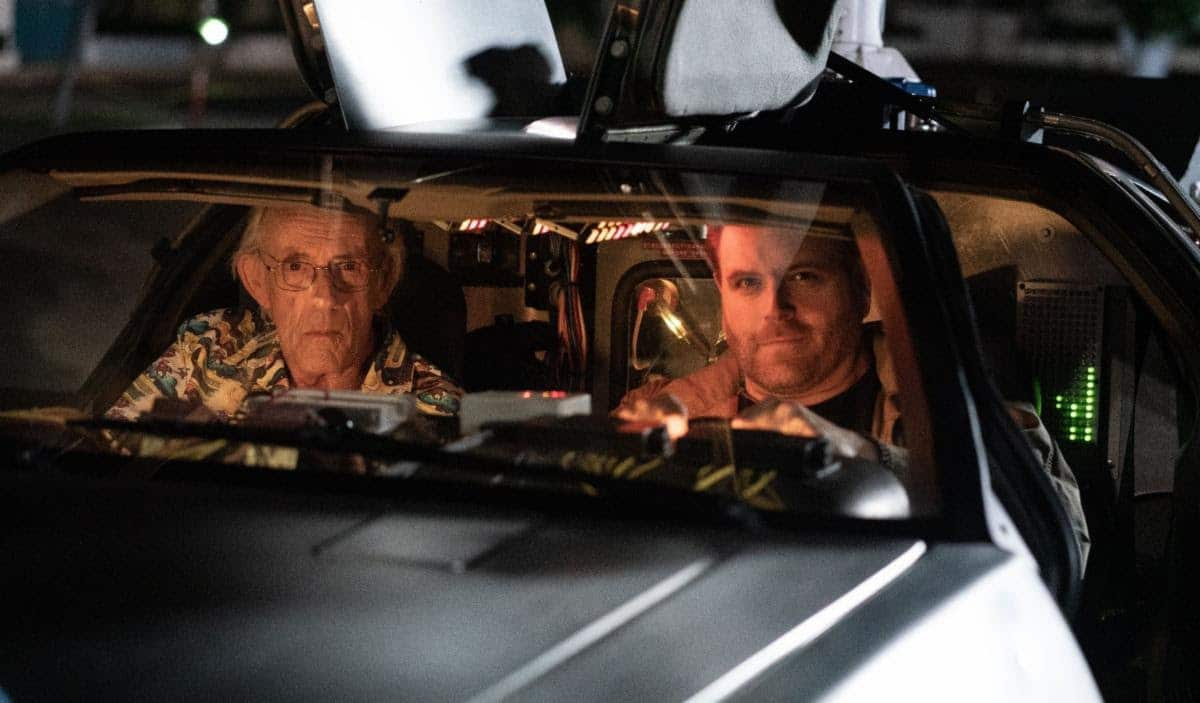 Christopher Lloyd Joins Josh Gates In Expedition: Back To The Future
