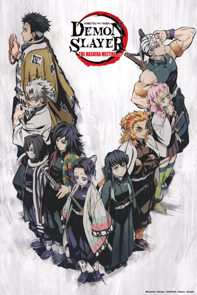 Demon Slayer: The Hashira Meeting Arc key art.