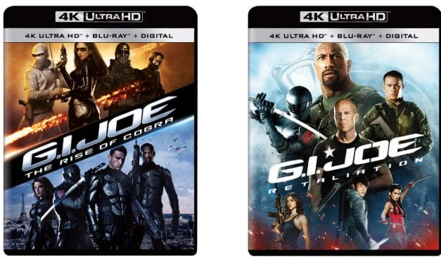 G.I. JOE: The Rise Of Cobra and Retaliation Coming To 4K Ultra HD This July