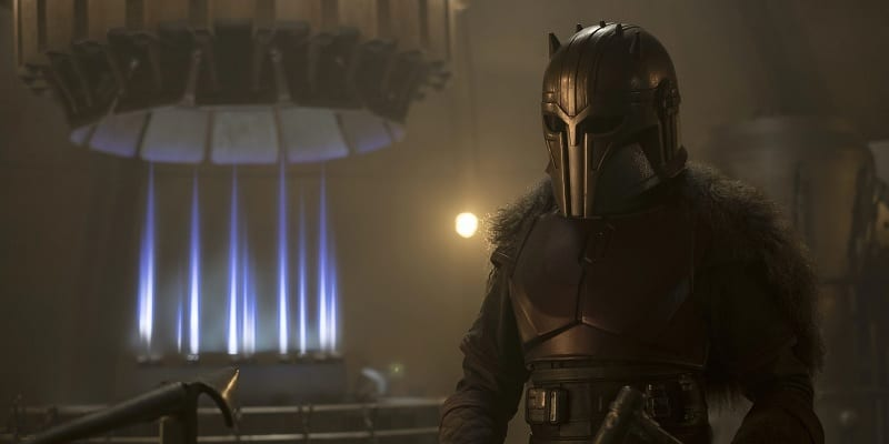 The armorer; The Mandalorian; Star Wars