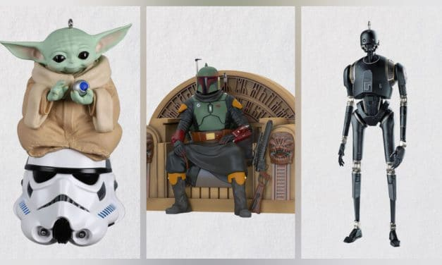 Star Wars: The Force Is Strong With This Year's Hallmark Christmas Ornaments