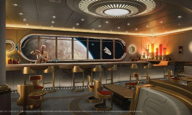 Disney Shares Details About Disney Cruise Line's Star Wars Hyperspace Lounge