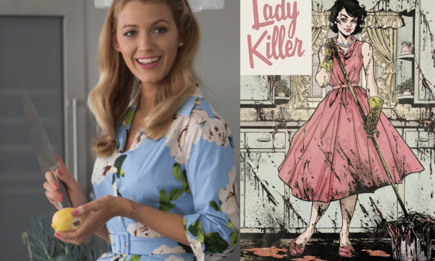 Blake Lively To Star In, Produce 'Lady Killer' Comic Adaptation