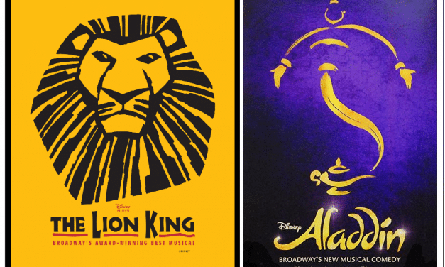 Disney On Broadway: The Lion King, Aladdin Return With Free Date Changes/Cancellations