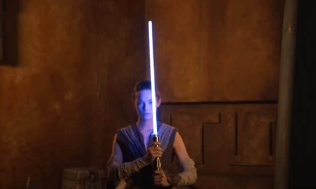 "Disney Reveals Footage Of Their New ""Real"" Lightsaber"
