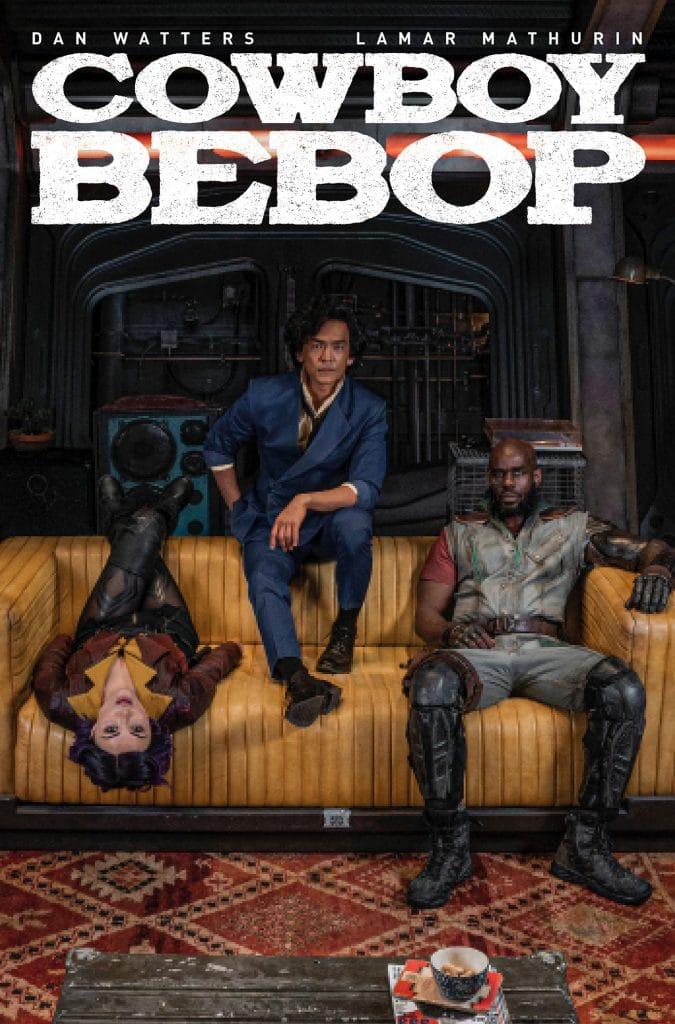 Cowboy Bebop # 1 cover B art.