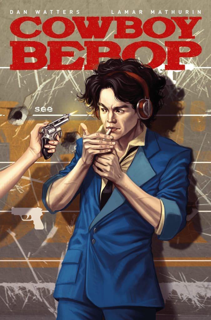 Cowboy Bebop # 1 cover C art.