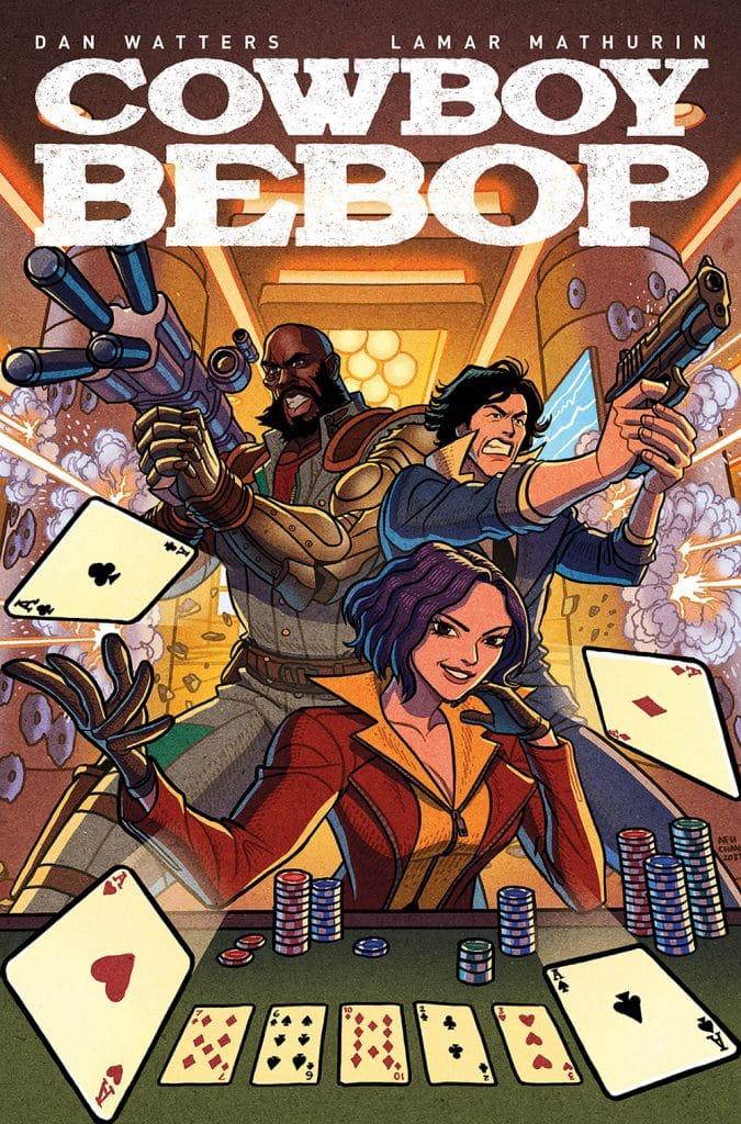 Cowboy Bebop # 1 cover D art.