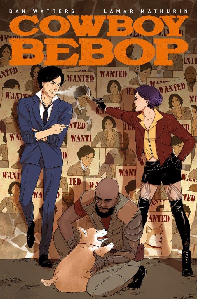 Cowboy Bebop # 1 cover E art.