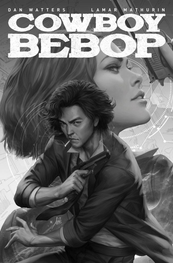 Cowboy Bebop # 1 cover F art.